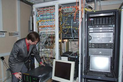 Installation of network equipment