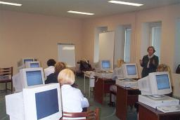 Class room in oncologic center